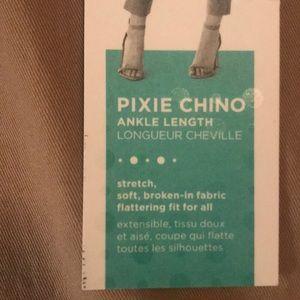Old Navy Pants - NWT Old Navy Pixie Chino (dark khaki) size 6P